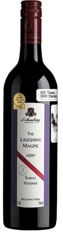 d'Arenberg Shiraz Viognier The Laughing Magpie